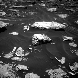 Nasa's Mars rover Curiosity acquired this image using its Right Navigation Camera on Sol 1726, at drive 3356, site number 63
