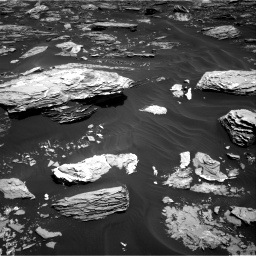Nasa's Mars rover Curiosity acquired this image using its Right Navigation Camera on Sol 1726, at drive 3368, site number 63