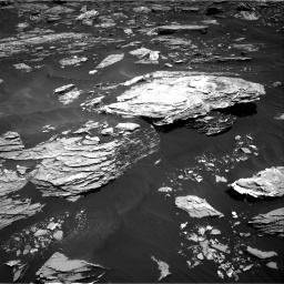 Nasa's Mars rover Curiosity acquired this image using its Right Navigation Camera on Sol 1726, at drive 3380, site number 63