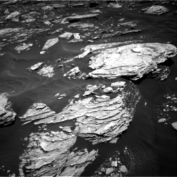 Nasa's Mars rover Curiosity acquired this image using its Right Navigation Camera on Sol 1726, at drive 3398, site number 63