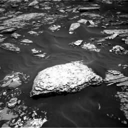 Nasa's Mars rover Curiosity acquired this image using its Right Navigation Camera on Sol 1726, at drive 3410, site number 63