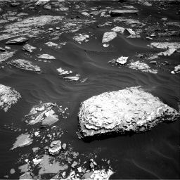 Nasa's Mars rover Curiosity acquired this image using its Right Navigation Camera on Sol 1726, at drive 3416, site number 63
