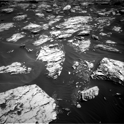 Nasa's Mars rover Curiosity acquired this image using its Right Navigation Camera on Sol 1726, at drive 3434, site number 63