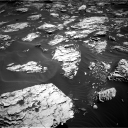 Nasa's Mars rover Curiosity acquired this image using its Right Navigation Camera on Sol 1726, at drive 3440, site number 63