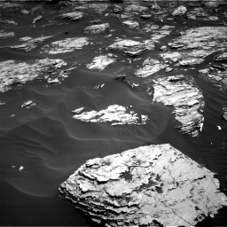 Nasa's Mars rover Curiosity acquired this image using its Right Navigation Camera on Sol 1726, at drive 3446, site number 63