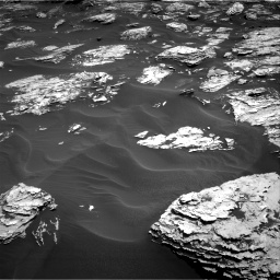 Nasa's Mars rover Curiosity acquired this image using its Right Navigation Camera on Sol 1726, at drive 3452, site number 63