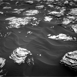 Nasa's Mars rover Curiosity acquired this image using its Right Navigation Camera on Sol 1726, at drive 3458, site number 63