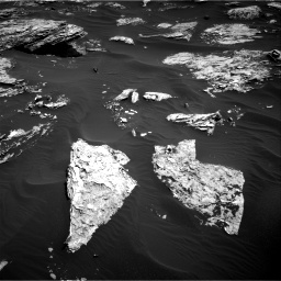 Nasa's Mars rover Curiosity acquired this image using its Right Navigation Camera on Sol 1726, at drive 3476, site number 63