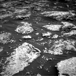 Nasa's Mars rover Curiosity acquired this image using its Right Navigation Camera on Sol 1726, at drive 3512, site number 63