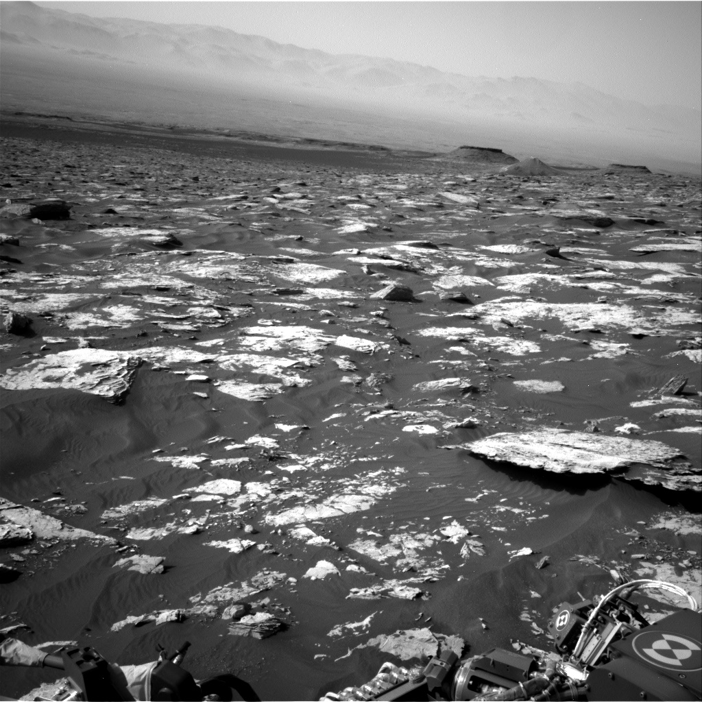 Nasa's Mars rover Curiosity acquired this image using its Right Navigation Camera on Sol 1726, at drive 0, site number 64