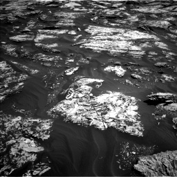 Nasa's Mars rover Curiosity acquired this image using its Left Navigation Camera on Sol 1727, at drive 216, site number 64