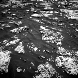 Nasa's Mars rover Curiosity acquired this image using its Left Navigation Camera on Sol 1727, at drive 234, site number 64