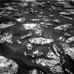 Nasa's Mars rover Curiosity acquired this image using its Left Navigation Camera on Sol 1727, at drive 252, site number 64