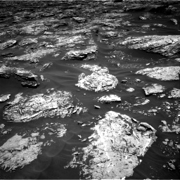 Nasa's Mars rover Curiosity acquired this image using its Right Navigation Camera on Sol 1727, at drive 12, site number 64