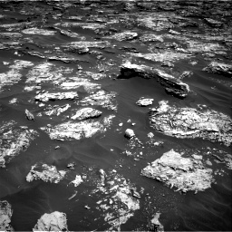 Nasa's Mars rover Curiosity acquired this image using its Right Navigation Camera on Sol 1727, at drive 24, site number 64