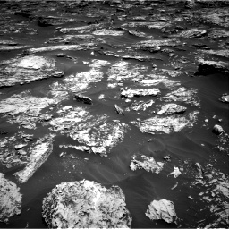 Nasa's Mars rover Curiosity acquired this image using its Right Navigation Camera on Sol 1727, at drive 30, site number 64