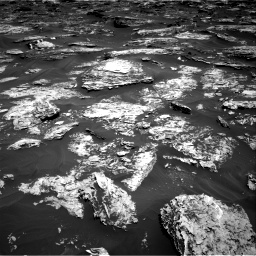 Nasa's Mars rover Curiosity acquired this image using its Right Navigation Camera on Sol 1727, at drive 36, site number 64