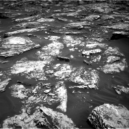 Nasa's Mars rover Curiosity acquired this image using its Right Navigation Camera on Sol 1727, at drive 60, site number 64