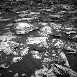 Nasa's Mars rover Curiosity acquired this image using its Right Navigation Camera on Sol 1727, at drive 66, site number 64
