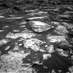 Nasa's Mars rover Curiosity acquired this image using its Right Navigation Camera on Sol 1727, at drive 72, site number 64