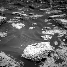 Nasa's Mars rover Curiosity acquired this image using its Right Navigation Camera on Sol 1727, at drive 84, site number 64