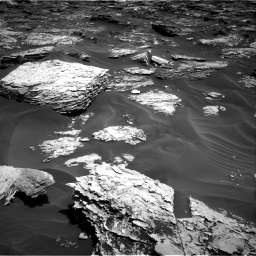 Nasa's Mars rover Curiosity acquired this image using its Right Navigation Camera on Sol 1727, at drive 96, site number 64
