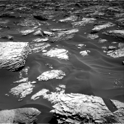 Nasa's Mars rover Curiosity acquired this image using its Right Navigation Camera on Sol 1727, at drive 108, site number 64