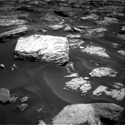 Nasa's Mars rover Curiosity acquired this image using its Right Navigation Camera on Sol 1727, at drive 114, site number 64