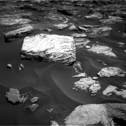 Nasa's Mars rover Curiosity acquired this image using its Right Navigation Camera on Sol 1727, at drive 120, site number 64