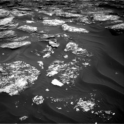 Nasa's Mars rover Curiosity acquired this image using its Right Navigation Camera on Sol 1727, at drive 138, site number 64