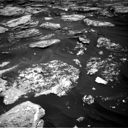 Nasa's Mars rover Curiosity acquired this image using its Right Navigation Camera on Sol 1727, at drive 144, site number 64
