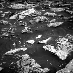 Nasa's Mars rover Curiosity acquired this image using its Right Navigation Camera on Sol 1727, at drive 156, site number 64