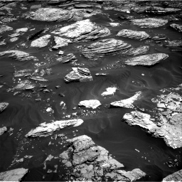 NASA's Mars rover Curiosity acquired this image using its Right Navigation Cameras (Navcams) on Sol 1727