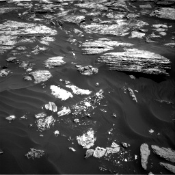 Nasa's Mars rover Curiosity acquired this image using its Right Navigation Camera on Sol 1727, at drive 192, site number 64