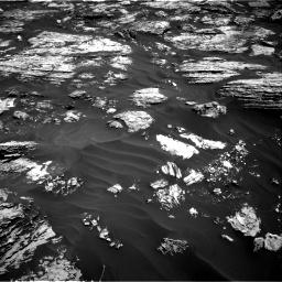 Nasa's Mars rover Curiosity acquired this image using its Right Navigation Camera on Sol 1727, at drive 198, site number 64