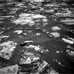 Nasa's Mars rover Curiosity acquired this image using its Right Navigation Camera on Sol 1727, at drive 204, site number 64