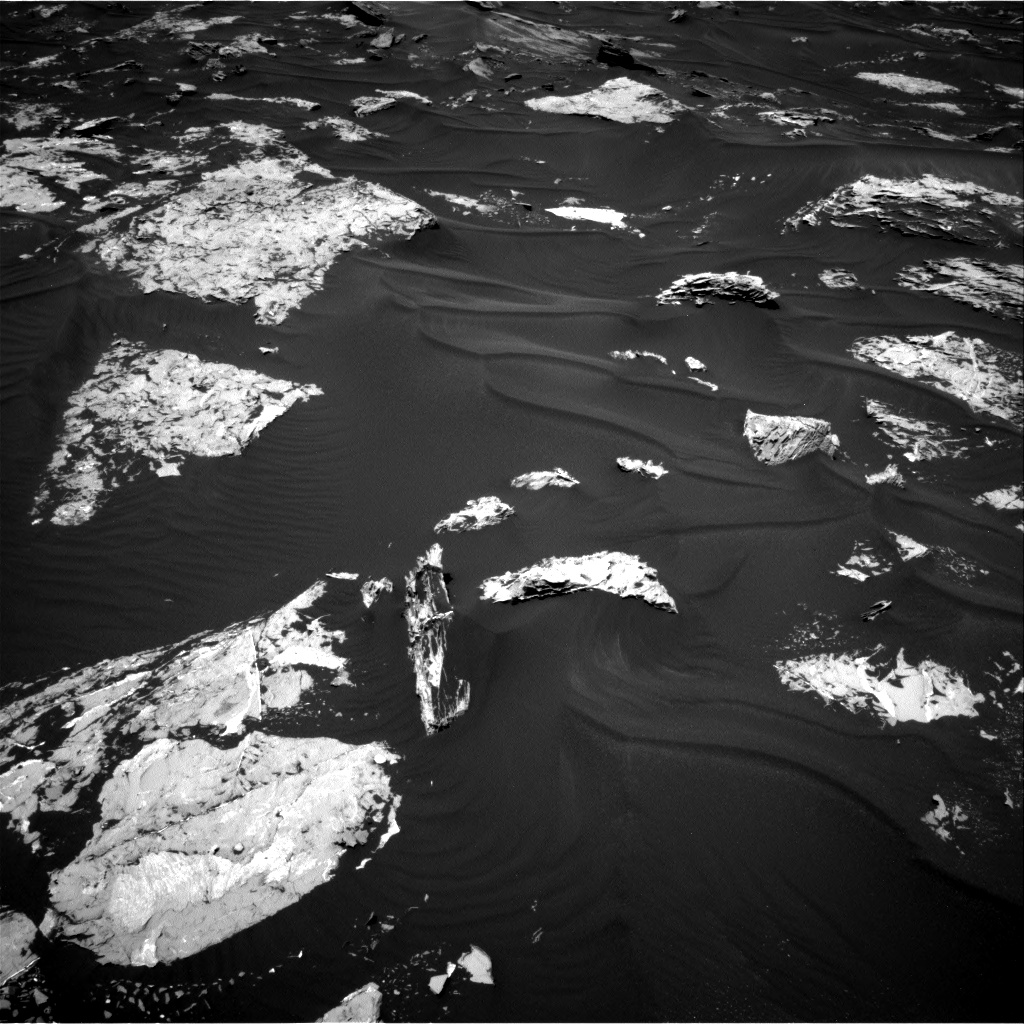 Nasa's Mars rover Curiosity acquired this image using its Right Navigation Camera on Sol 1727, at drive 216, site number 64