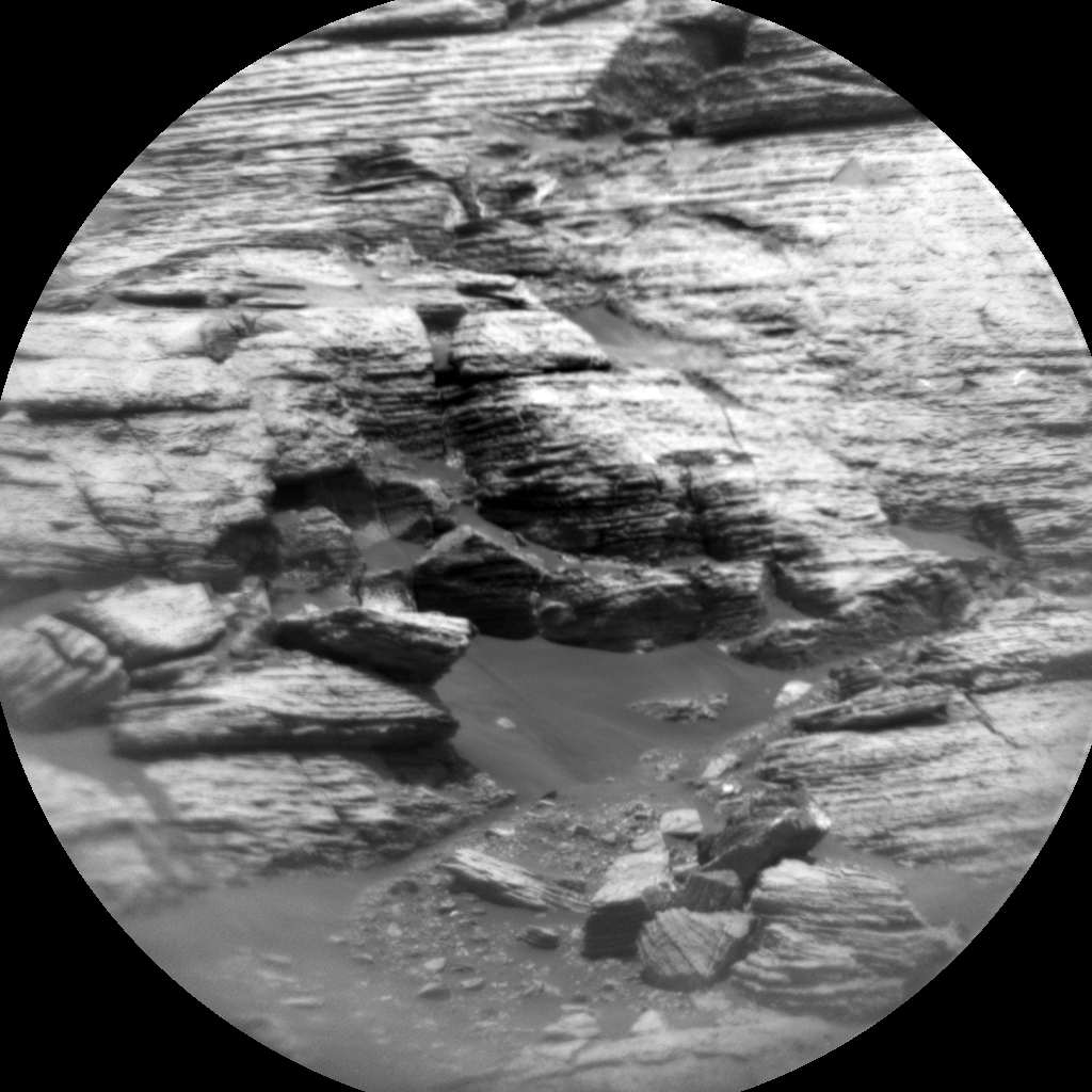 Nasa's Mars rover Curiosity acquired this image using its Chemistry & Camera (ChemCam) on Sol 1727, at drive 0, site number 64