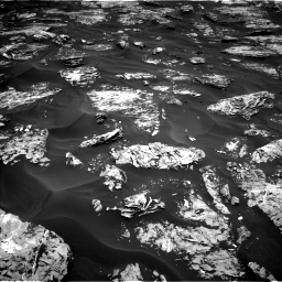 Nasa's Mars rover Curiosity acquired this image using its Left Navigation Camera on Sol 1728, at drive 252, site number 64