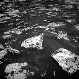 Nasa's Mars rover Curiosity acquired this image using its Left Navigation Camera on Sol 1728, at drive 264, site number 64