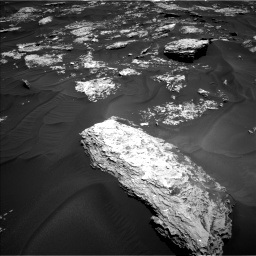 Nasa's Mars rover Curiosity acquired this image using its Left Navigation Camera on Sol 1728, at drive 390, site number 64