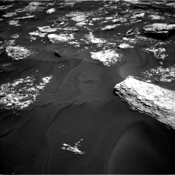 Nasa's Mars rover Curiosity acquired this image using its Left Navigation Camera on Sol 1728, at drive 396, site number 64