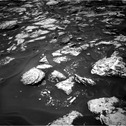Nasa's Mars rover Curiosity acquired this image using its Right Navigation Camera on Sol 1728, at drive 276, site number 64