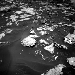 Nasa's Mars rover Curiosity acquired this image using its Right Navigation Camera on Sol 1728, at drive 282, site number 64