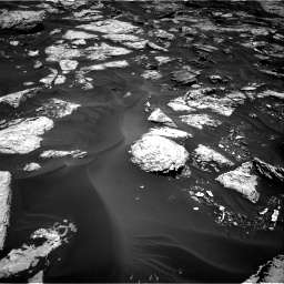 Nasa's Mars rover Curiosity acquired this image using its Right Navigation Camera on Sol 1728, at drive 288, site number 64