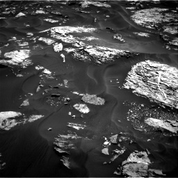 Nasa's Mars rover Curiosity acquired this image using its Right Navigation Camera on Sol 1728, at drive 354, site number 64