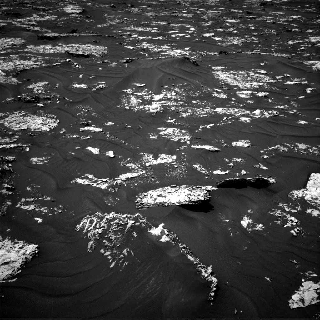 Nasa's Mars rover Curiosity acquired this image using its Right Navigation Camera on Sol 1728, at drive 390, site number 64