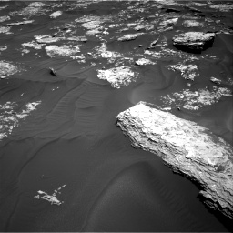 Nasa's Mars rover Curiosity acquired this image using its Right Navigation Camera on Sol 1728, at drive 396, site number 64