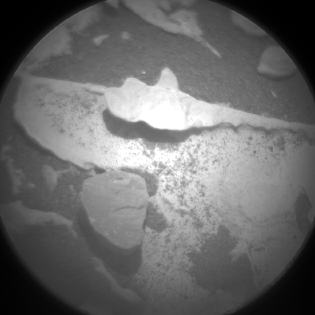 Nasa's Mars rover Curiosity acquired this image using its Chemistry & Camera (ChemCam) on Sol 1729, at drive 420, site number 64