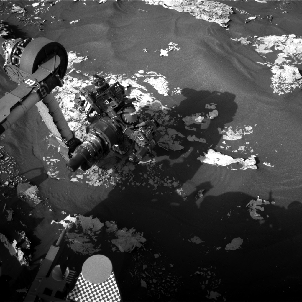 Nasa's Mars rover Curiosity acquired this image using its Right Navigation Camera on Sol 1729, at drive 420, site number 64